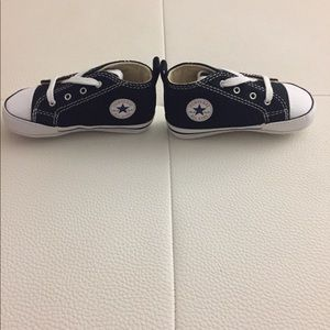 Never worn converse baby sneakers